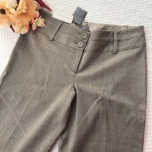 Ann Taylor Lindsay Flare Dress Pants